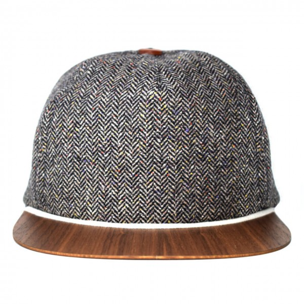 Tweed Cap grau