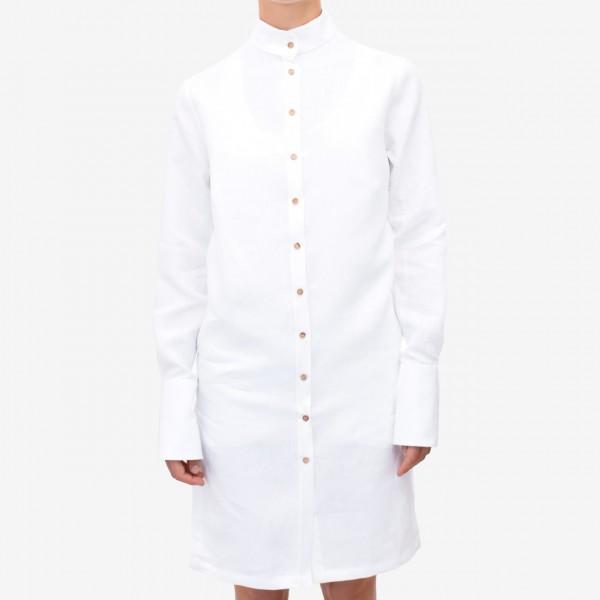 Leinenkleid weiß