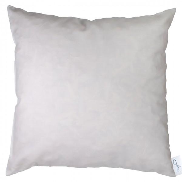 Zirbenkissen bio Baumwolle weiß