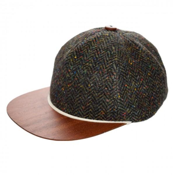 Tweed Cap grün