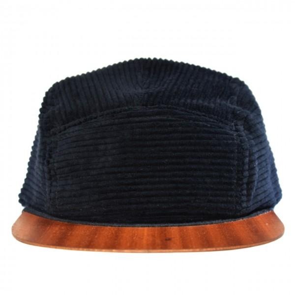 Cord Cap schwarz