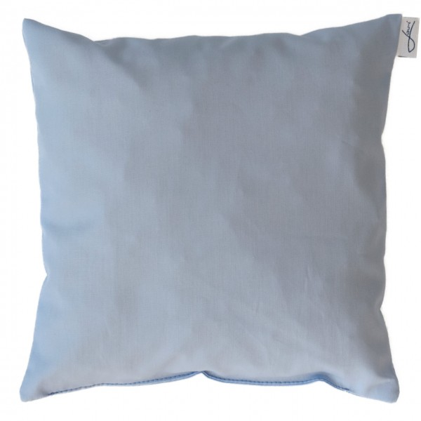 Lavendelkissen bio Baumwolle hellblau