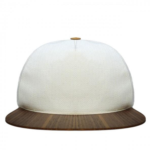 Cap weiß Baumwolle