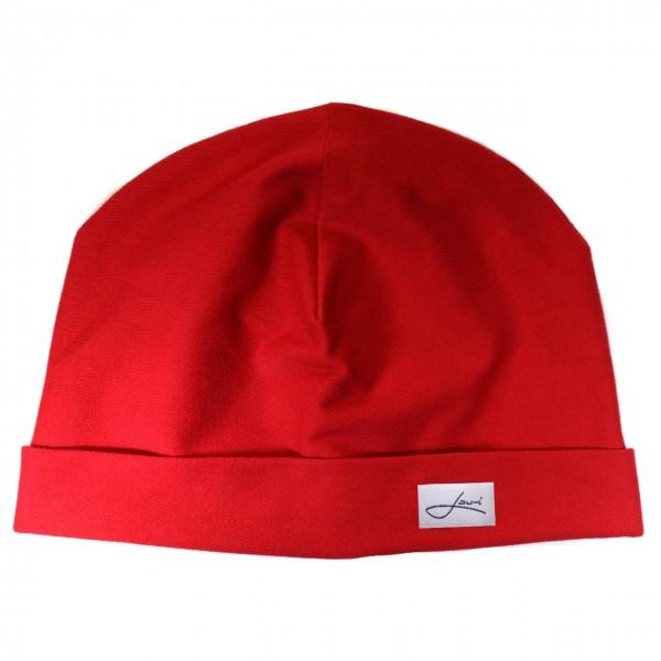 Baumwollmütze rot